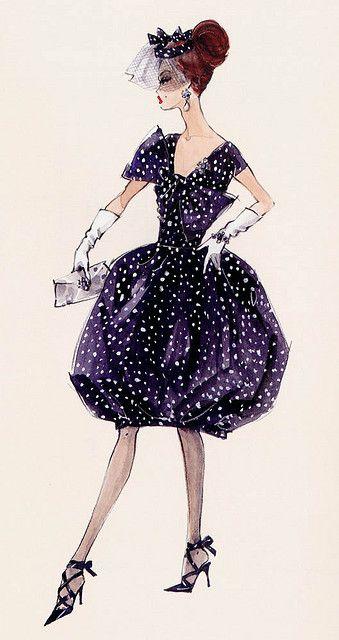 Barbie Illustration by Robert Best #illustration, #fashion, #fashionillustration, #poster, #vintage, #ad, #painting, #ink, #print, #drawing, #sketch, #fashion,#art, #ad, #advertising #handdrawn #graphic #design