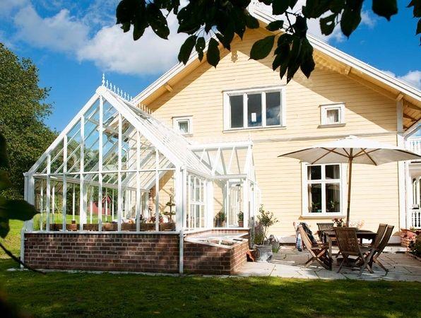 Ett växthus som i första hand är en plats för odlande av människors välmående.