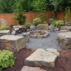 firepit log bench - Google Search
