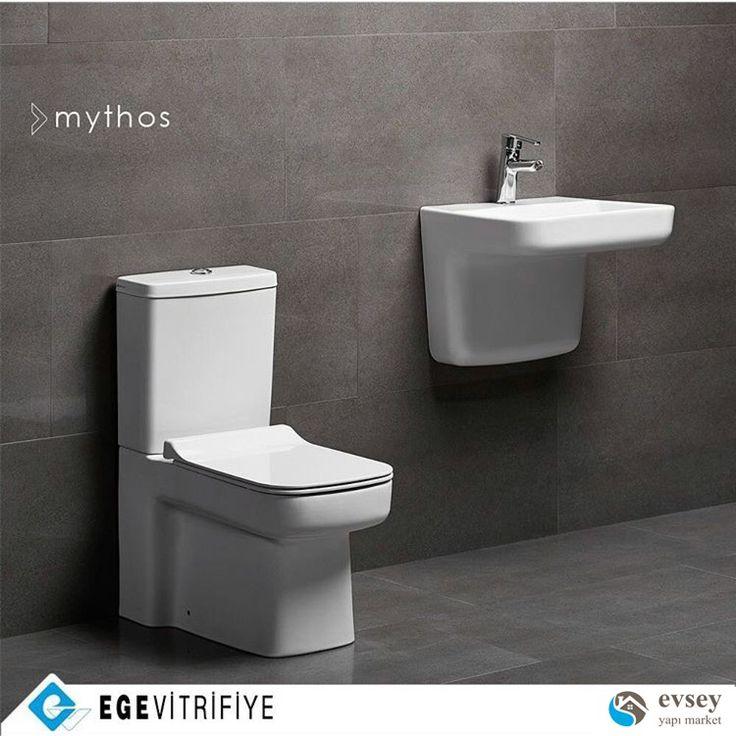 Mythos serisi. Estetik görünümümü mükemmel fonksiyon ile tamamlayan eşsiz seri ile tanışın!! #aquasave özelliği; az #su ile kusursuz temizlik sağlar @egevitrifiye_as #architect #architecture #mimar #icmimar #banyo #banyodekorasyon #bathroom #bathroomdecor #bathroomdesign #decoration #design #dekorasyon #dizayn #lavabo #klozet #tuvalet #toilet #istanbul #turkey