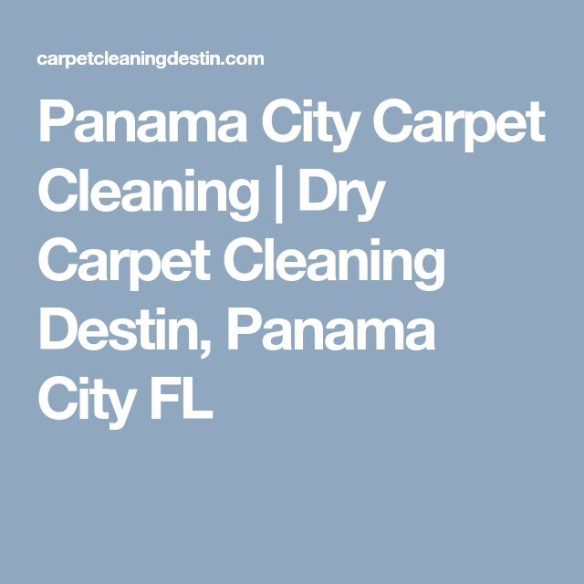 Panama City Carpet Cleaning | Dry Carpet Cleaning Destin, Panama City FL