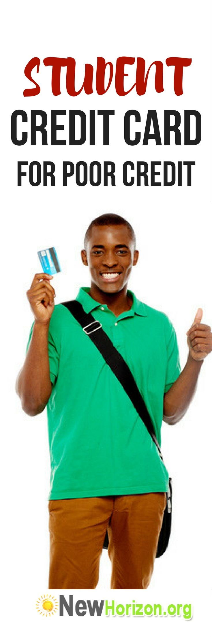 List of Student Credit Cards for Poor Credit