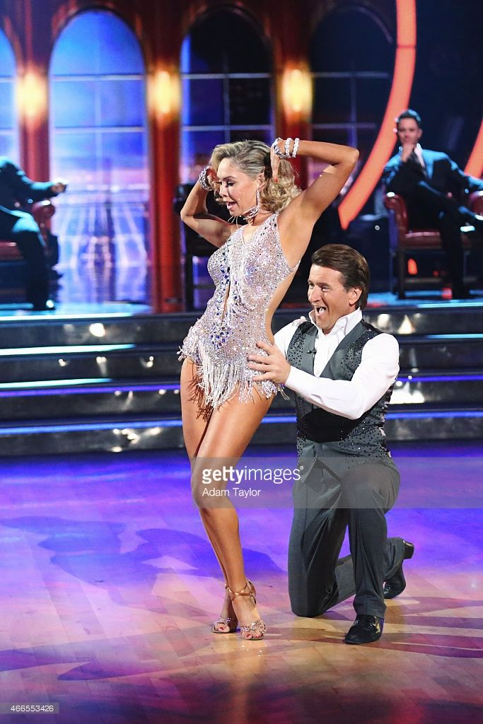 is robert from shark tank dating his dancing with the stars partner