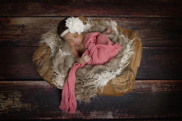 Newborn portrait of baby Nadia by Jaime Finseth in Brandon Mississippi