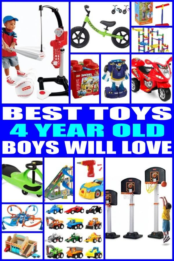 Find The Best Toy Gifts For 4 Year Old Boys Kids Would Love Any Of