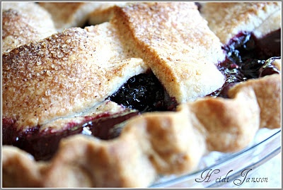 Marion Berry Lattice Pie ~ ala Paula Deen