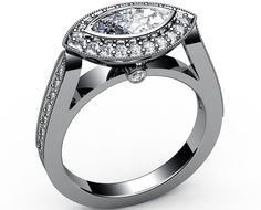 marquise+east+west+diamond+settings | marquis ring mountings | marquise diamond ring settings 14k
