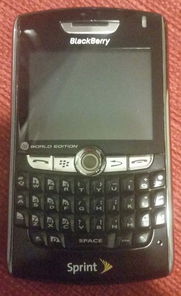 EXCELLENT! BlackBerry 8830 - (SPRINT) Smartphone World Edition, Ships NOW! 71279490533 | eBay