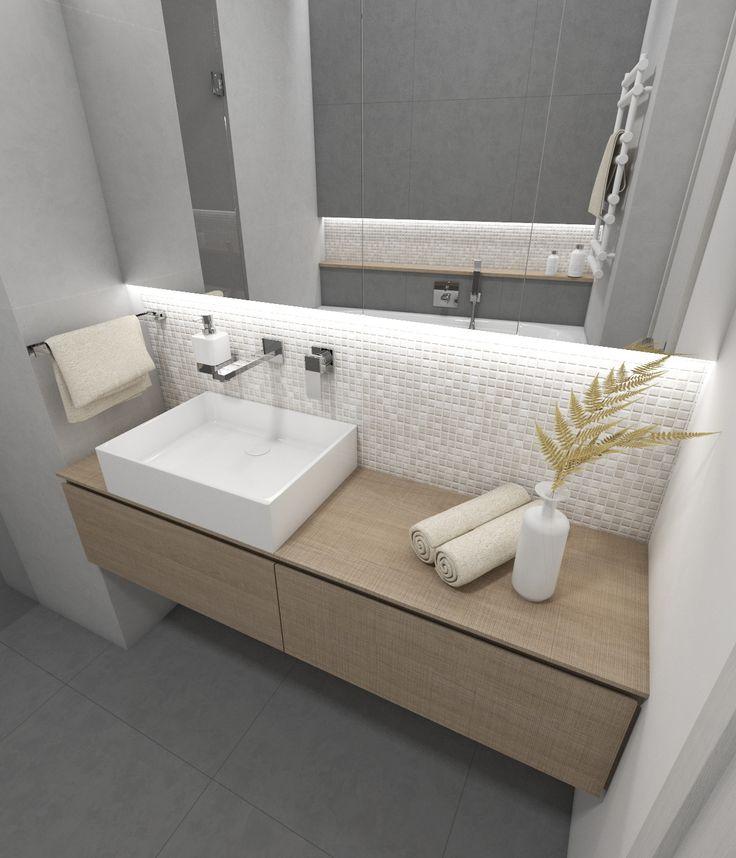 Architect Katka Petkovšek for Perfecto design: Modern bathroom LOFT