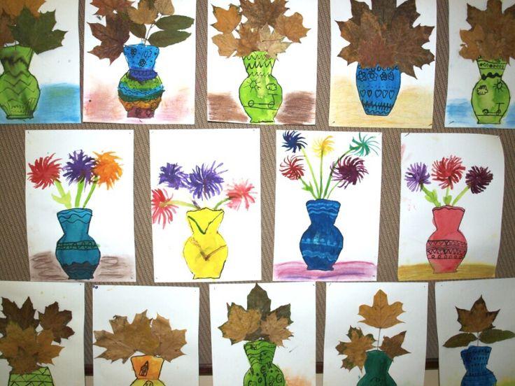 Výsledek obrázku pro Základní škola - podzimní výzdoba školy