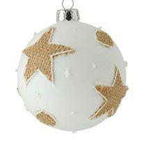 Λευκες Χριστουγεννιατικες Μπαλες