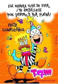 Tarjetas de feliz cumpleaños muy bonitas y dedicadas a hijos para facebook