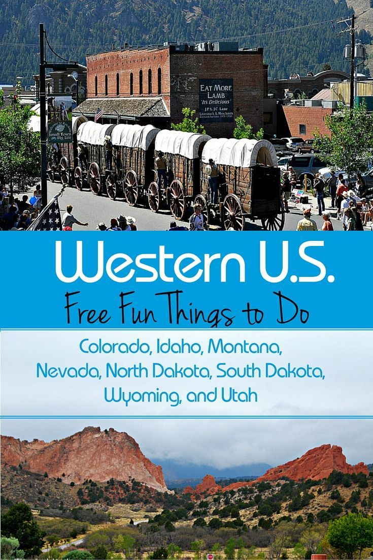 Free Fun things to do in the Western U.S.