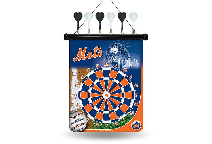 MLB New York Mets Magnetic Dart Board