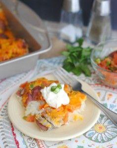 Salsa & Cheddar Redskin Potatoes - Teaspoon Of Goodness