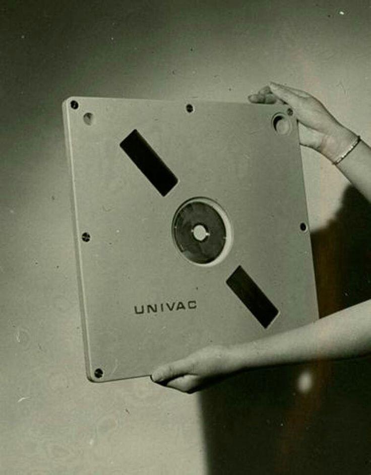 Univac computer disc.