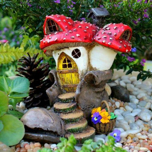 Old Boot House | Mushroom Fairy House | Fairy Home