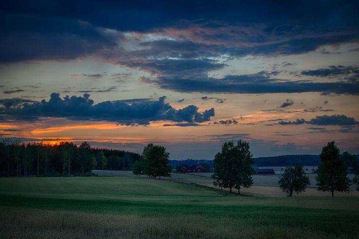 Summer night in Ås, Norway by John Einar Sandvand on 500px