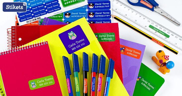 Stikets – Etiquetas Adhesivas para Marcar Objetos y Ropa de los Niños