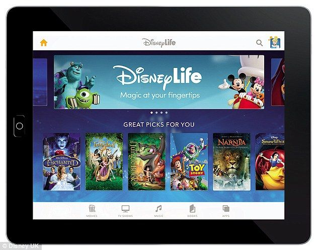 Disney has launched its DisneyLife app in the UK, which lets up to six family members stream movies, TV shows, and music soundtracks on their iOS and Android devices. The app was unveiled last month, and included in the £9.99 monthly fee are films such as The Muppets, Monsters, Inc., The Lion King and Aladdin