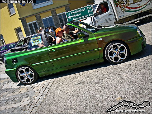 Green Mk3 VW Golf cabrio | Flickr - Photo Sharing!