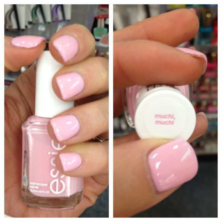 Pink Nail Polish Mini: 1coat OPI Mod About You + 2coats Essie Muchi Muchi =
