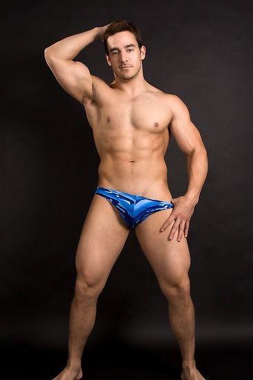 nice blue swimsuit