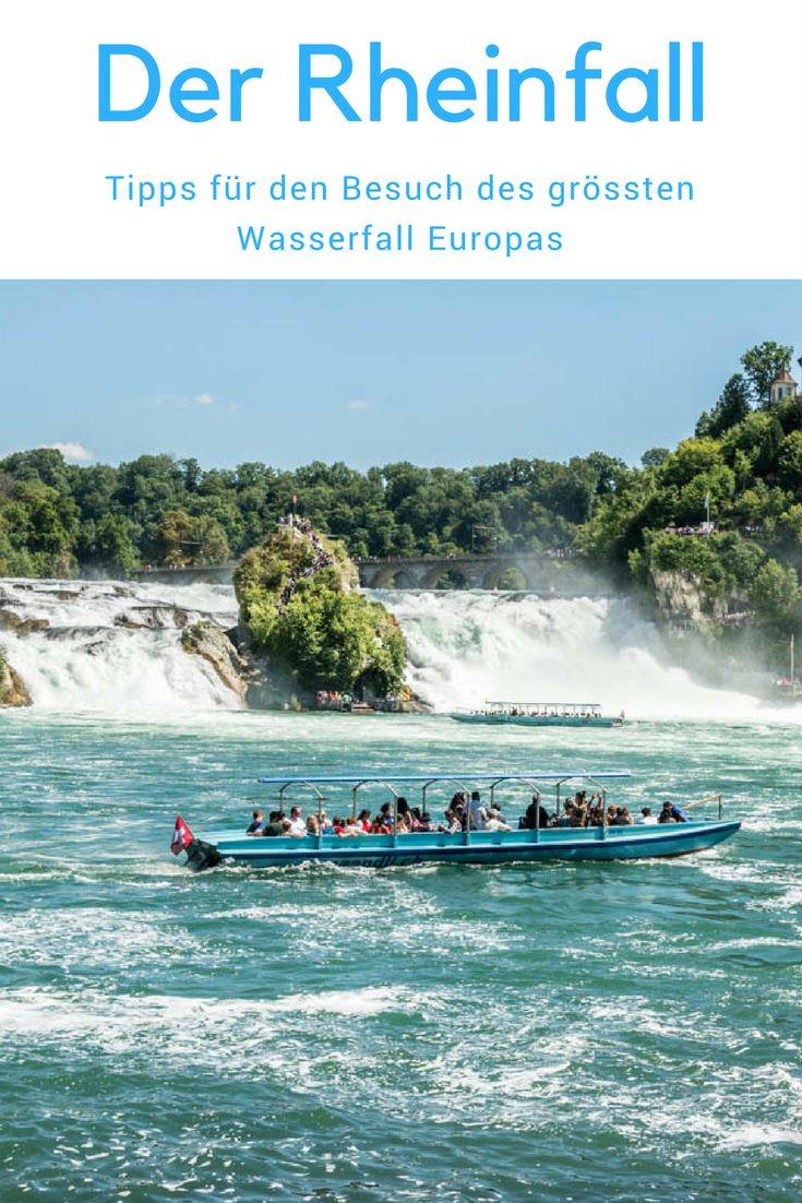 Tipps für einen Besuch beim Rheinfall, dem grössten Wasserfall Europas, Schweiz Schaffhausen
