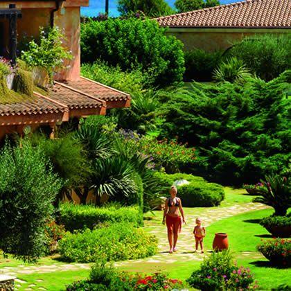 #garden view #baia di nora
