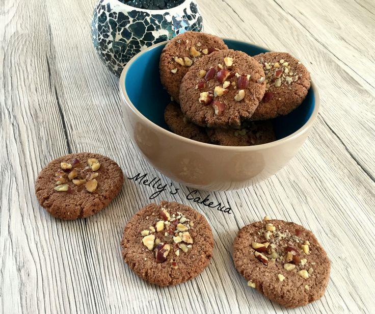 LowCarb Haselnuss Cookies