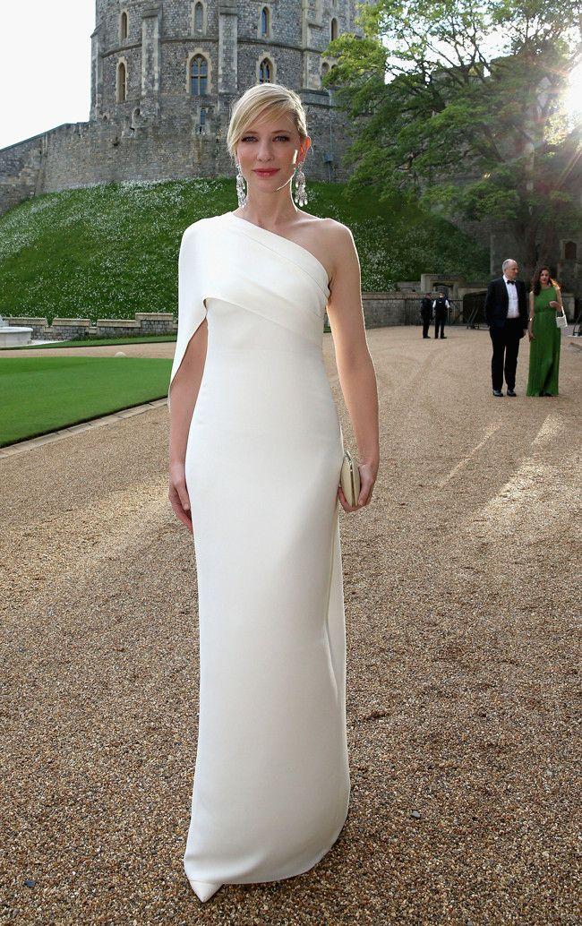 Cate Blanchett de Ralph Lauren colección otoño-invierno 2014