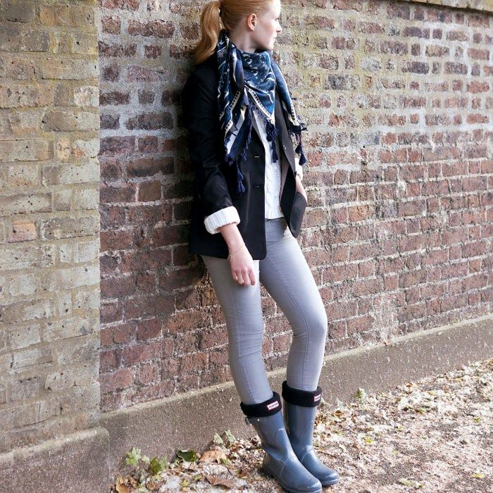 Gloss Wellies, Original Gloss Short, Hunter Boot. I never knew wellies could look this cool!