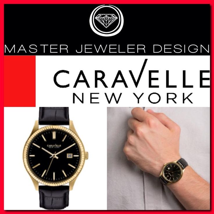 90 best New Caravelle Watches images on Pinterest