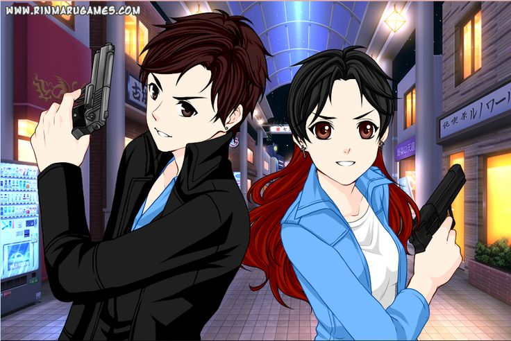 Partners In Crime In Anime Style From Rinmaru Games My