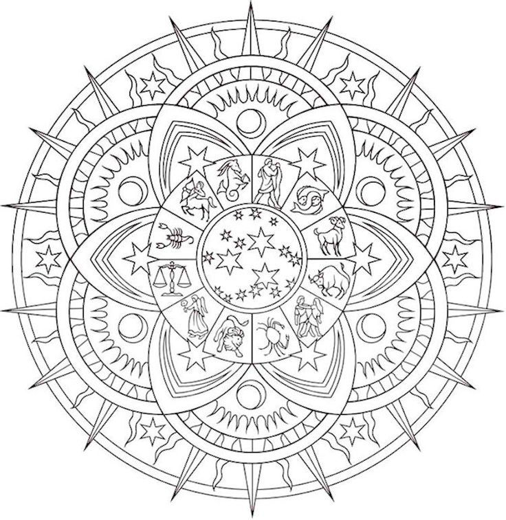 Image Result For Celestial Coloring Pages Free Printable Coloring Pages Mandala Coloring Pages Printable Coloring Pages