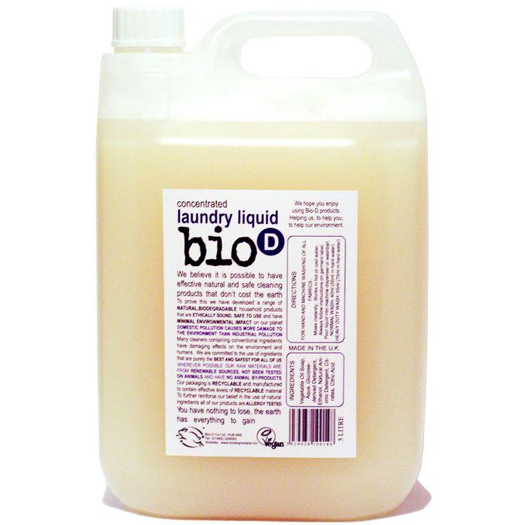 Laundry Liquid - 5L - Bio D
