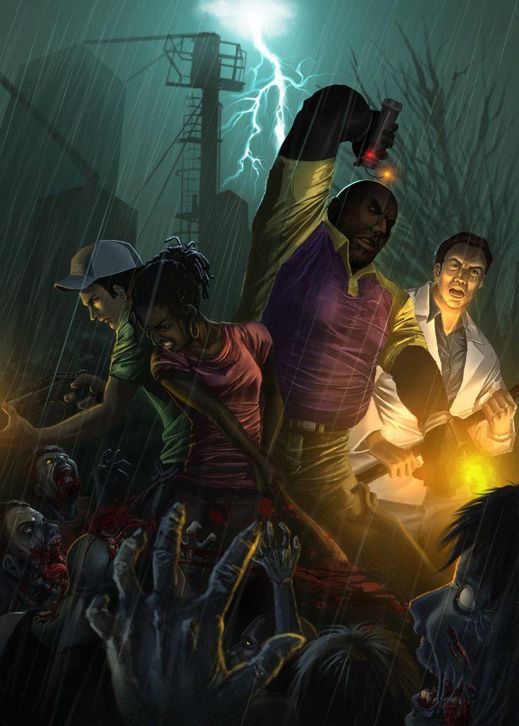 Left 4 Dead 2: Hard Rain by karuma9