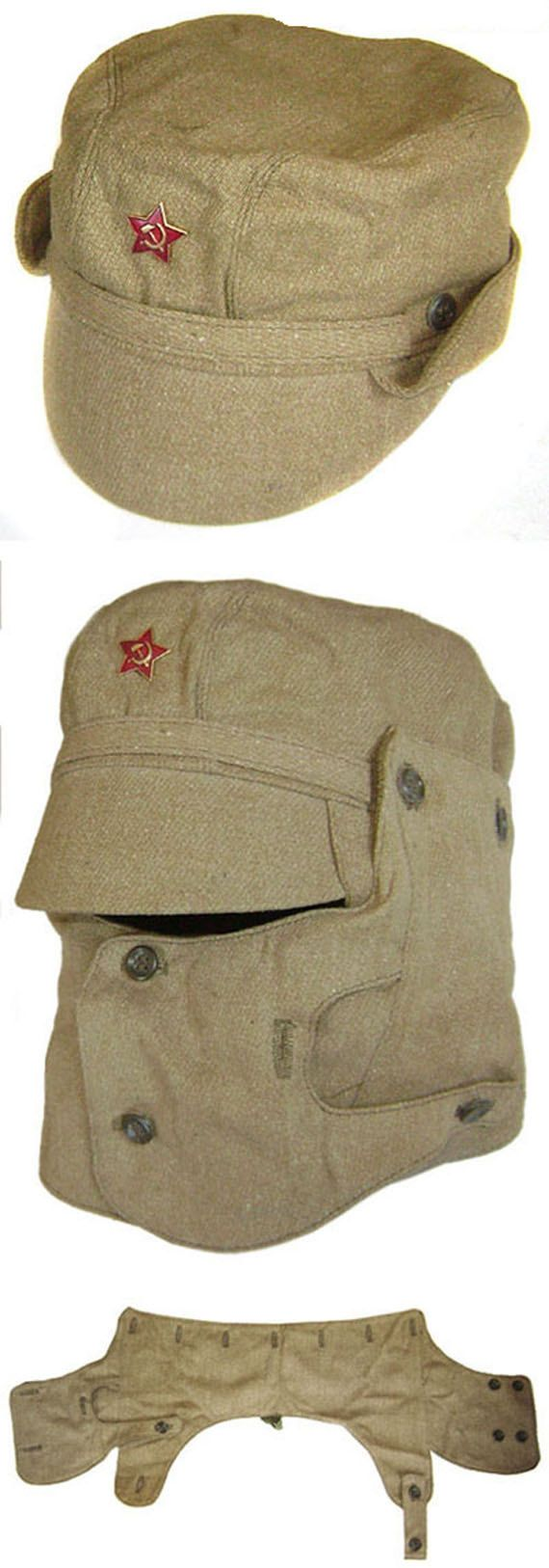 Soviet Military Afghanistan war cap with by Sovietmilitaryitems