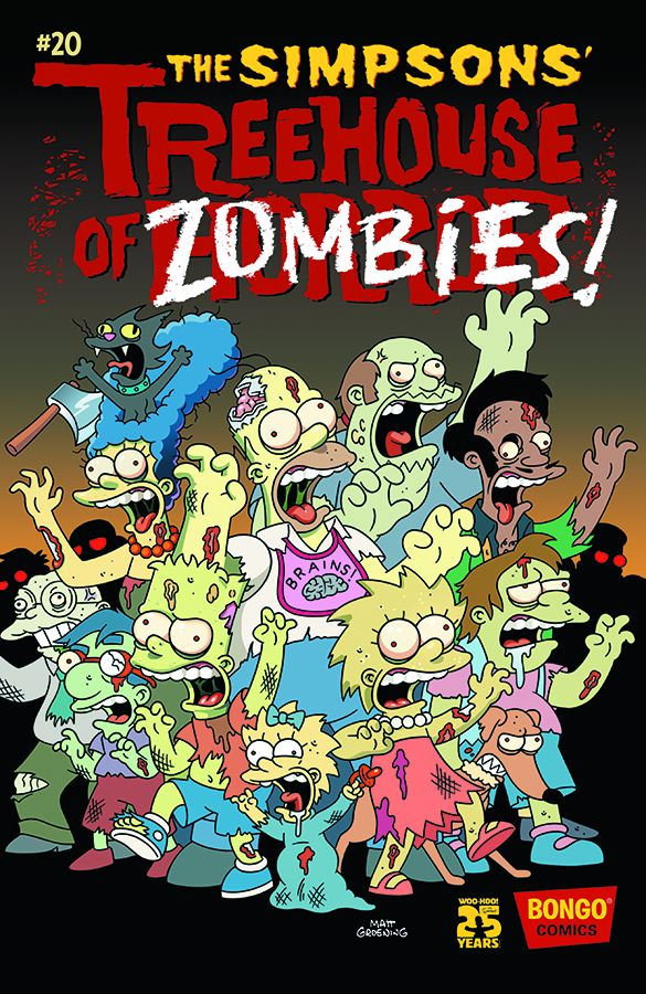 SIMPSONS TREEHOUSE OF HORROR #20