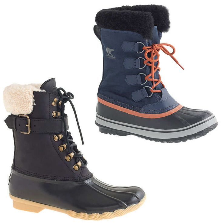 Warm, Waterproof Snowboots The bad news: Those classic brown L.L. Bean boots are sold out until the end of February. The good news? You can get them in white. But if you cringe at the thought of dirty slush ruining them, J.Crew and Sperry also have waterproof options for the next blizzard.