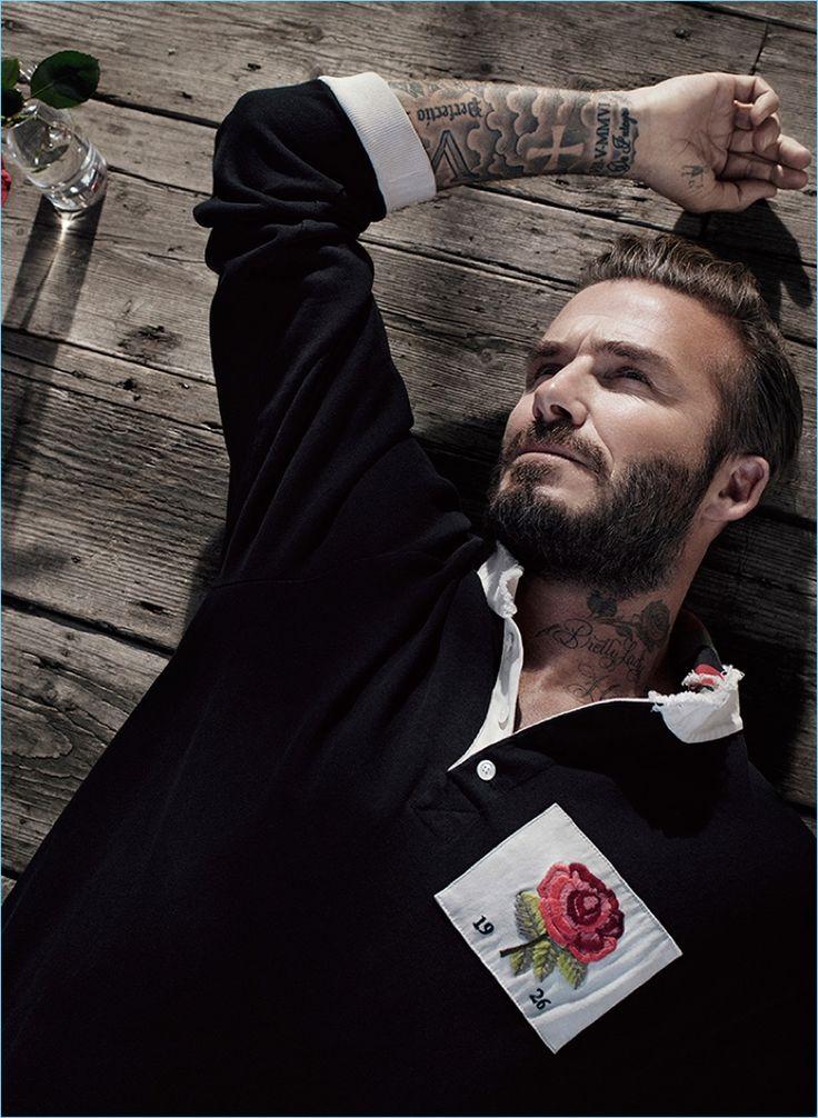 David Beckham 2016 Kent & Curwen Campaign