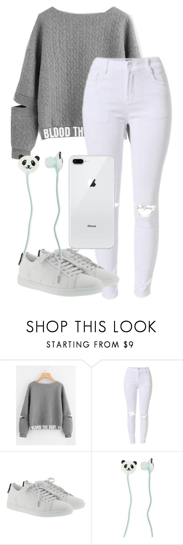 """Look Who I Found"" by maniyah-shay on Polyvore featuring Yves Saint Laurent and Forever 21"