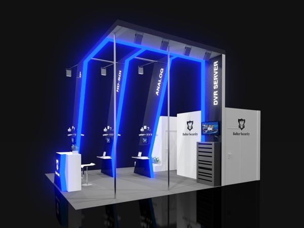 Exhibition Stand Behance : Balter security exhibition stand on behance referensi