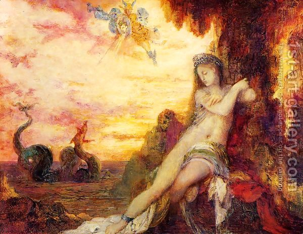 Perseus and Andromeda I by Gustave Moreau