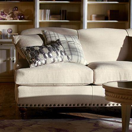 Outerbanks 86 Upholstered Sofa In Lindy Natural Arhaus Furniture