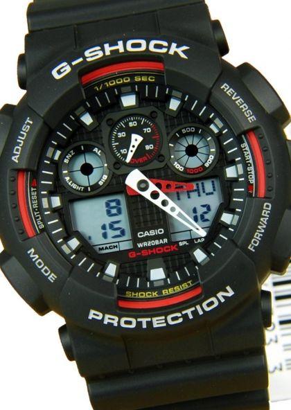 Đồng hồ Casio G-Shock nam GA-100-1A4DR.