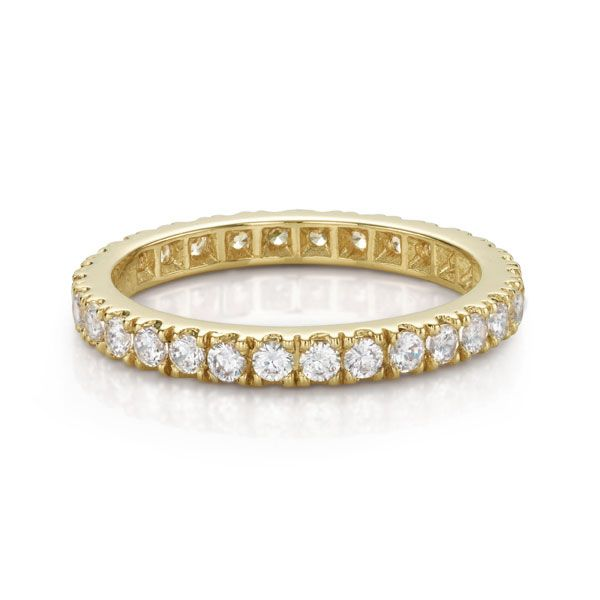 14ct Gold All Rounder Round Brilliant Ring. Total 0.9ct equivalent. Available in White, Yellow or Rose Gold. Each stone measures approx 2mm. Please note, due to the nature of this design, it may need to be specially made in the size you require and this will take 6-8 weeks.