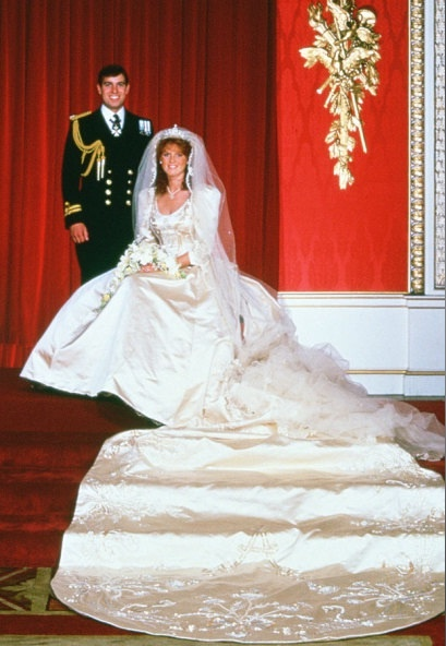 Prince Andrew, Duke of York and Sarah, Duchess of York - Their official wedding photgraph.