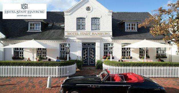 199€ | -49% | 3 Tage #Sylt - 5 Sterne-Deluxe Urlaub im Privat Hotel Stadt #Hamburg