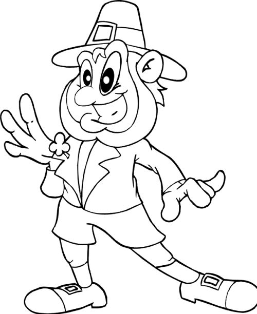 leprachauns coloring pages - photo#24